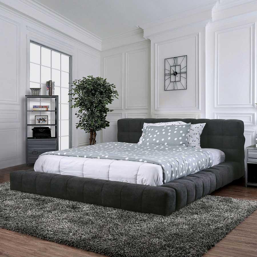 تخت خواب پارچه ای مدرن
