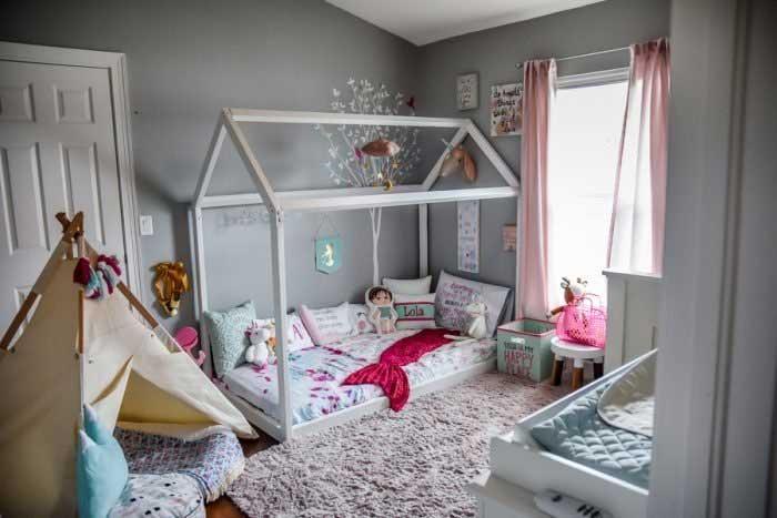 دکوراسیون اتاق خواب کودک به سبک دکتر مونتسوری