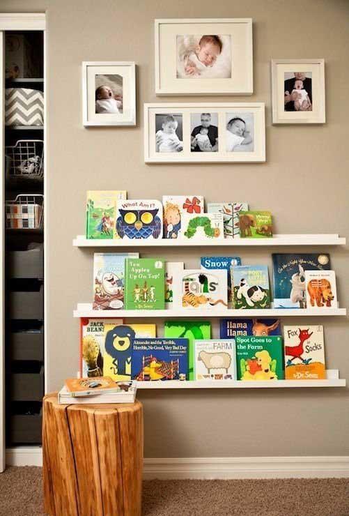 طراحی کتابخانه کودک به سبک مدرن