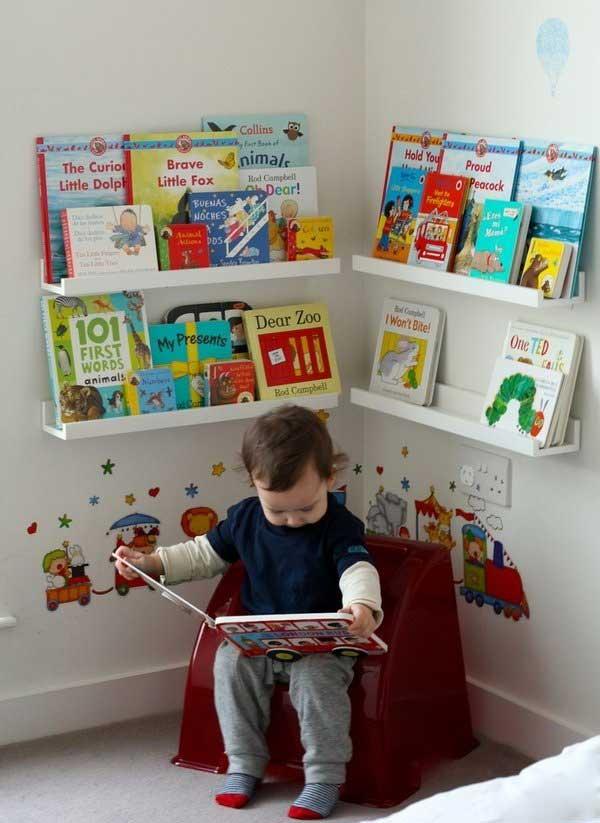 طراحی مبلمان کودک در اتاق خواب کوچک