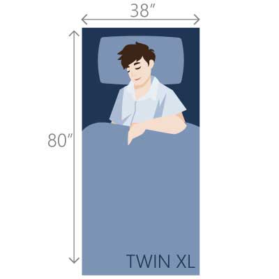 Twin XL bed